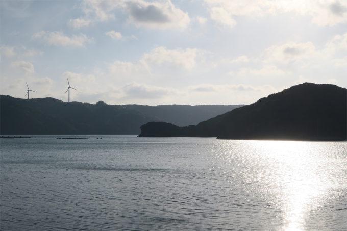 32_玄海海上温泉パレアから見る風力発電設備