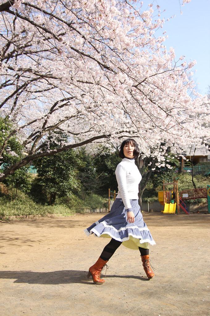 鷺沼お花見ピクニック2015-24