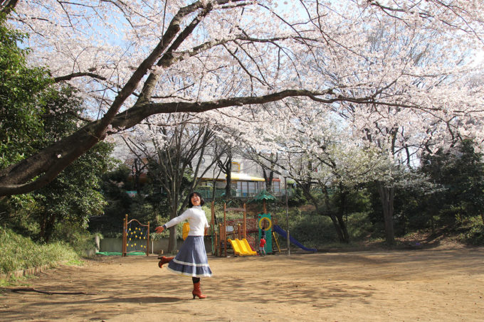 鷺沼お花見ピクニック2015-15
