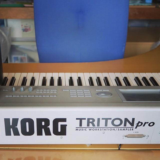 KORGのTRITON proを使っていました