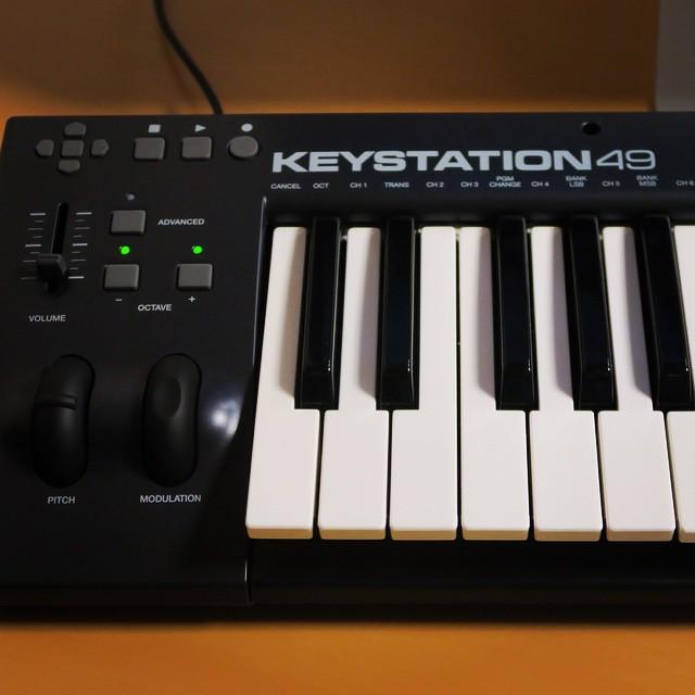 M-AUDIOのKEYSTATION49を買いました