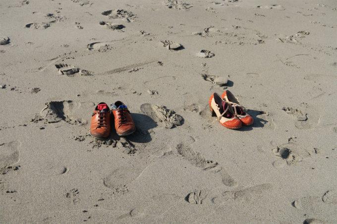 28_靴を脱ぎました