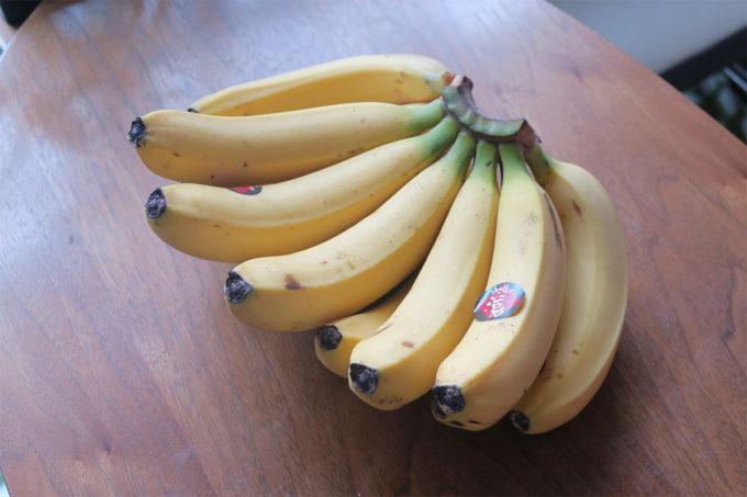 13_バナナも沢山頂きました