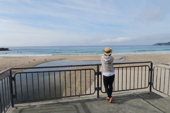 46_朝も海に散步