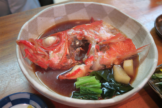 15_金目鯛の煮付け