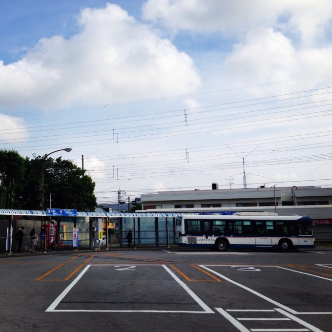 02_新検見川駅からバスで