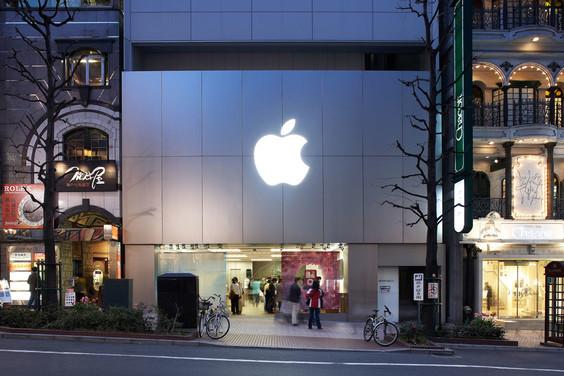 渋谷のアップルストア