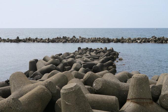08_日本海は穏やかでした