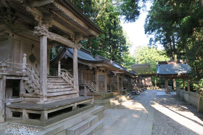 52_弥彦神社の摂社・末社