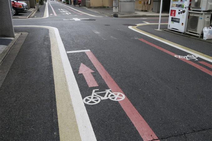 08_自転車通行レーン
