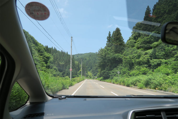 06_いい山道ですね