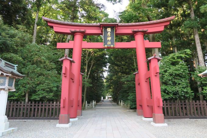 56_彌彦神社の一の鳥居