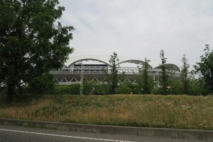 24_車窓から見たビッグスワンスタジアム