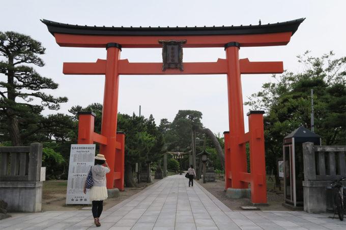 15_白山神社にやってきました