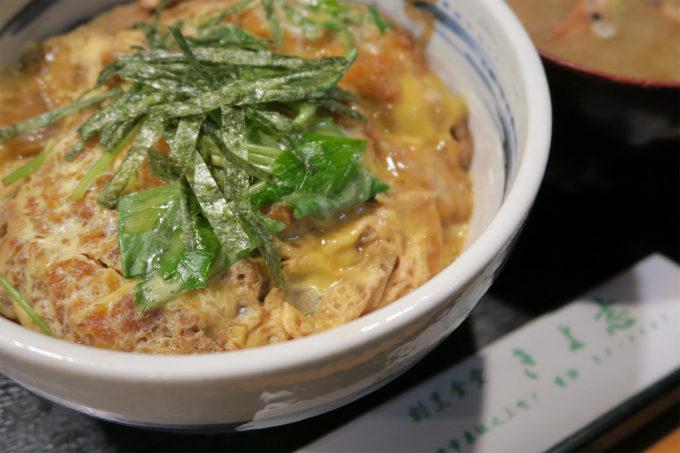 69_長岡・割烹食堂「きよ志」のカツ丼
