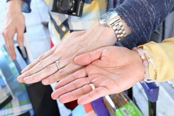 ケチャマヨの手の色