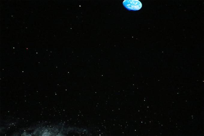50_宇宙から見た地球、そして銀河。
