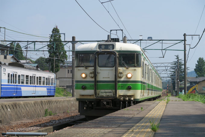 30_在来線で長岡駅へ