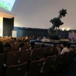 半田空の科学館でコンサート in プラネタリウム☆大きな動くイラストと星空のコラボが大成功!