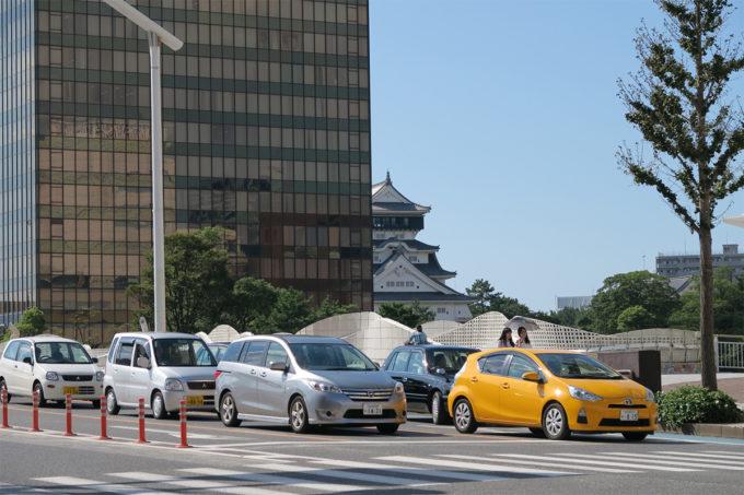 12_小倉城がチラリ