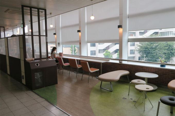 04_駅にはカフェコーナーが
