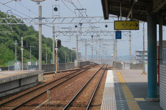 23_岡場駅を後にします
