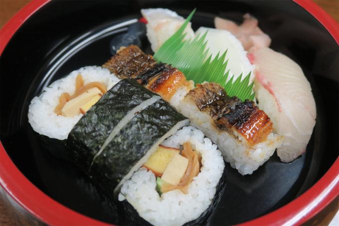 18_お寿司を頂きました