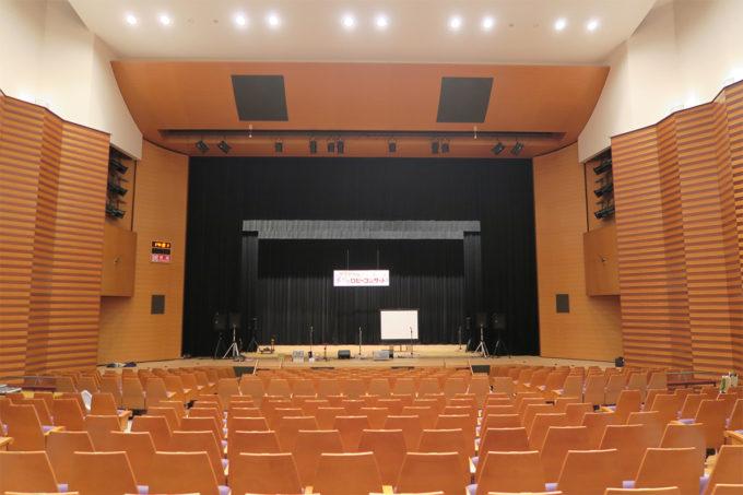 10_こんな素敵なホールでコンサート