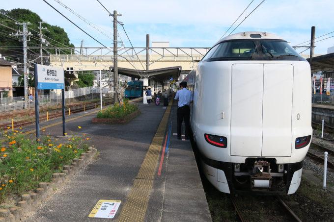 24_紀伊田辺駅に到着