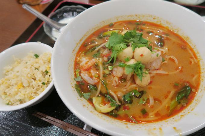 23_新御徒町タイ料理いなかむら「クッティア・ガイセット」