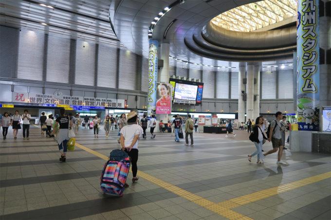 18_小倉駅をあとにします