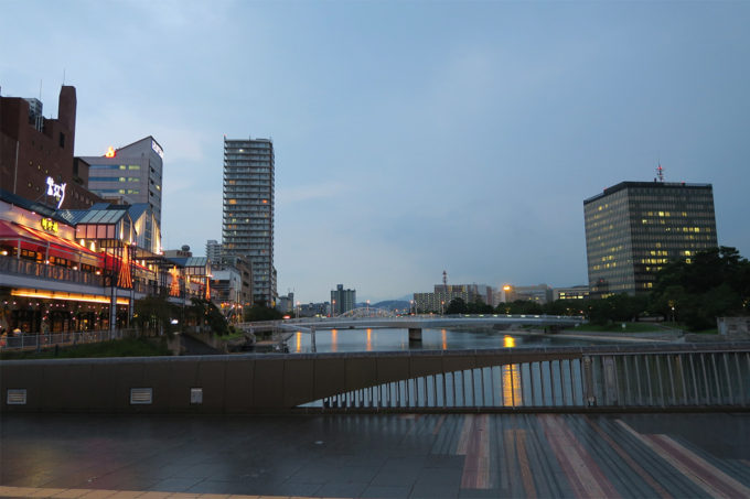 41_夜の小倉散步