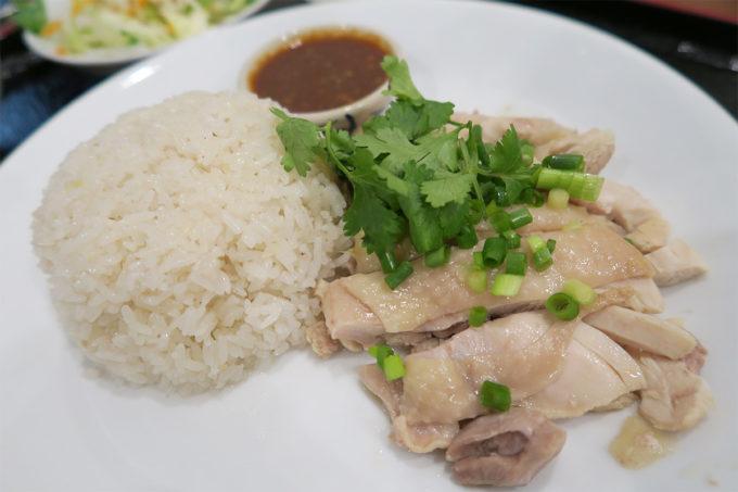 23_新御徒町タイ料理いなかむら「カオマンガイセット」