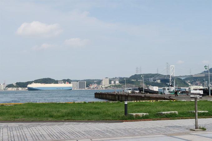 13_関門海峡の向こうに山口県が見える