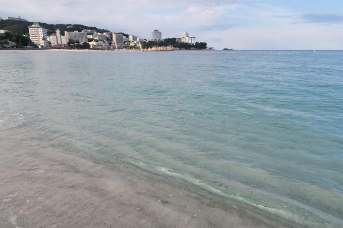 10_入って分かる水の綺麗さ!