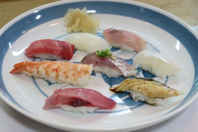 67_天然魚の特上にぎり!