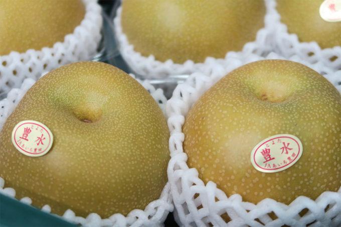 69_とよたの梨、豊水