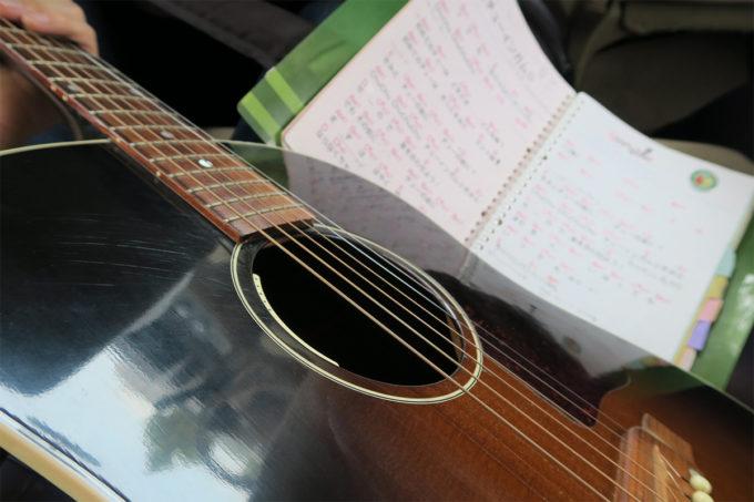 20_車の中で歌の練習