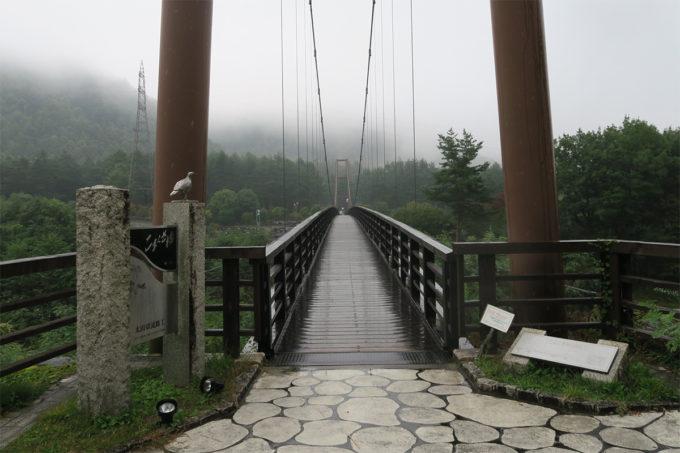 80_雨煙るこまくさ橋
