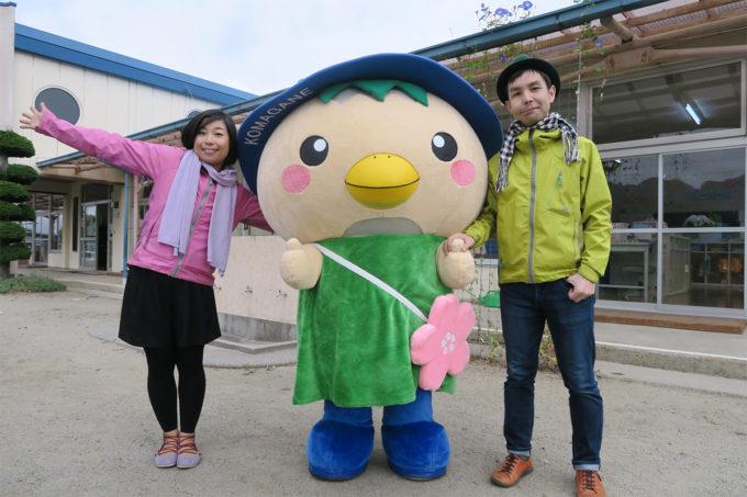 52_駒ヶ根市のキャラクター「こまかっぱくん」と