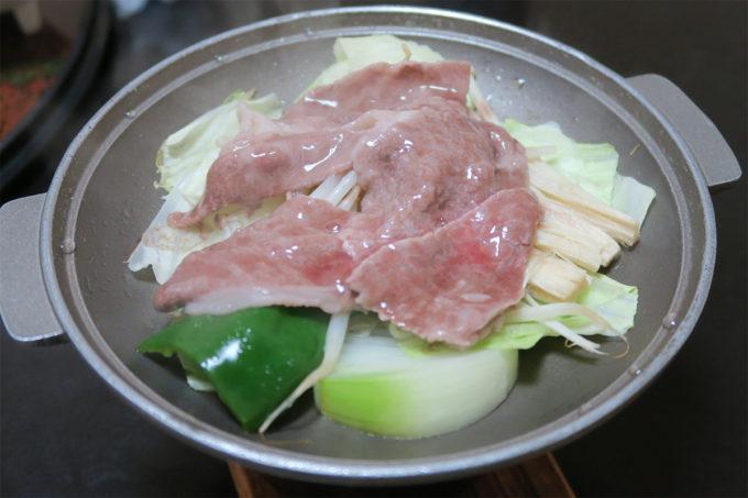 57_高千穂牛の陶板焼き