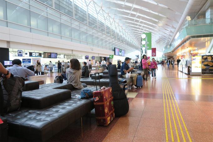 01_羽田空港到着