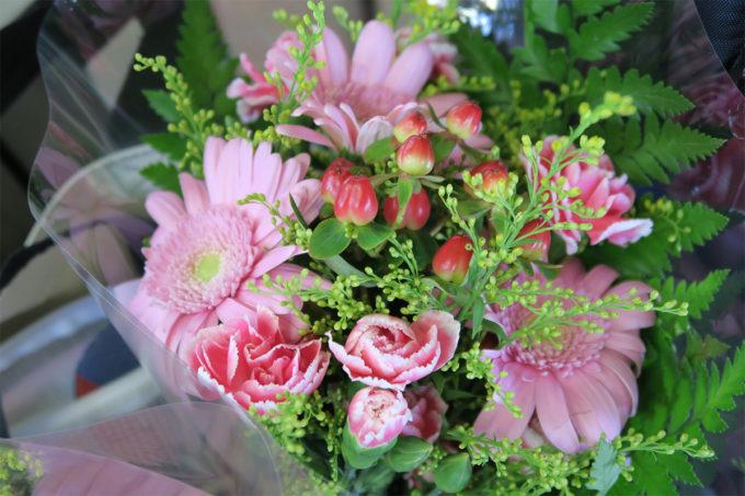 10_綺麗なお花を頂きました