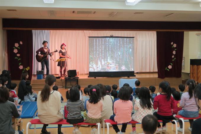 11_金沢野町・第一善隣館保育所でケチャマヨコンサート01