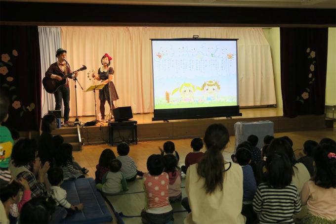 11_金沢野町・第一善隣館保育所でケチャマヨコンサート04