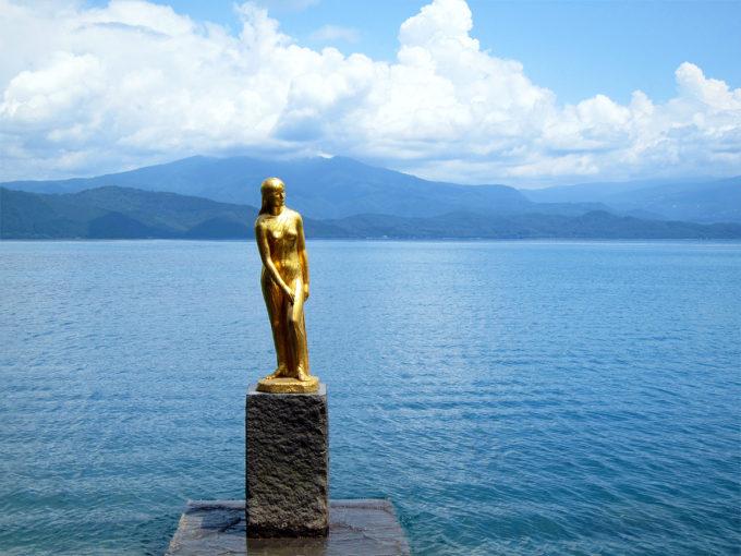 辰子像 (仙北市 田沢湖)The tour around Lake Tazawa07 Aug, 2010