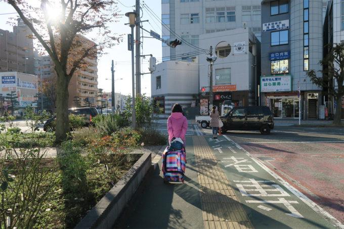 平塚駅に到着