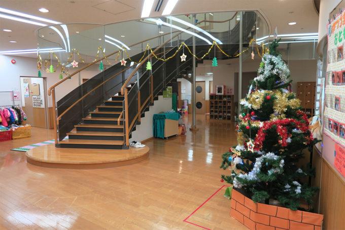 保育園のクリスマスツリー