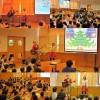 東京都千代田区・西神田保育園 父母会主催のクリスマスコンサートを行いましたよ☆