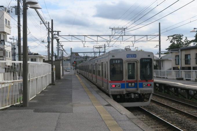 38_京成稲毛駅へ